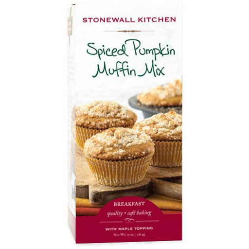 Stonewall Kitchen Spiced Pumpkin Muffin Mix, 17 oz. (481.9 g)