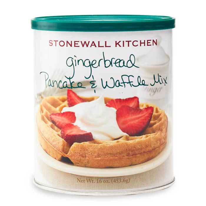 Stonewall Kitchen Gingerbread Pancake and Waffle Mix, 16 oz (453.6 g)
