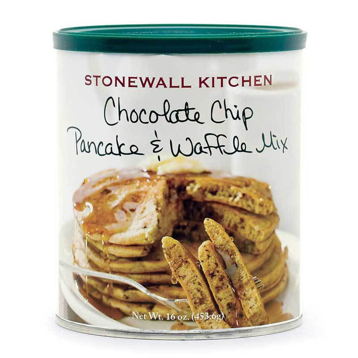 Stonewall Kitchen Chocolate Chip Pancake and Waffle Mix, 16 oz (453.6 g)