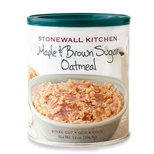 Stonewall Kitchen Maple Brown Sugar Oatmeal, 14 oz (396.9 g)