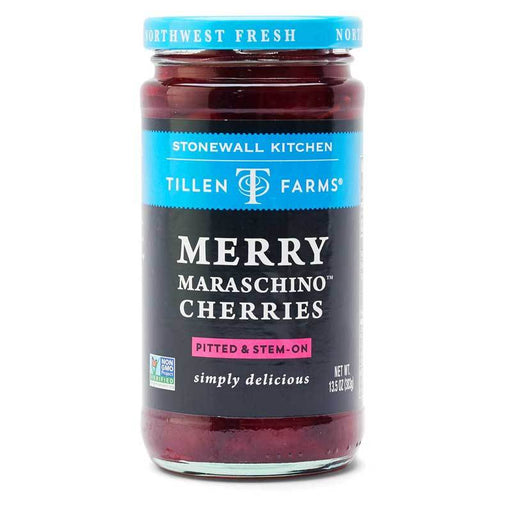 Stonewall Kitchen Merry Maraschino Cherries, 13.5 oz (383 g)
