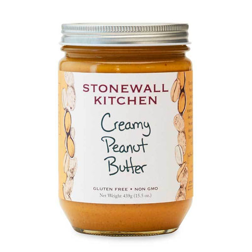 Stonewall Kitchen Creamy Peanut Butter, 15.5 oz (439 g)