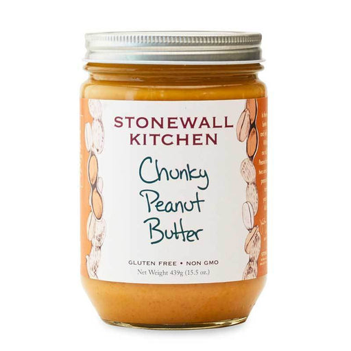 Stonewall Kitchen Chunky Peanut Butter, 15.5 oz (439 g)