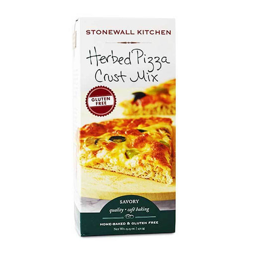 Stonewall Kitchen Gluten-Free Herbed Pizza Crust Mix, 15.25 oz (432.3 g)