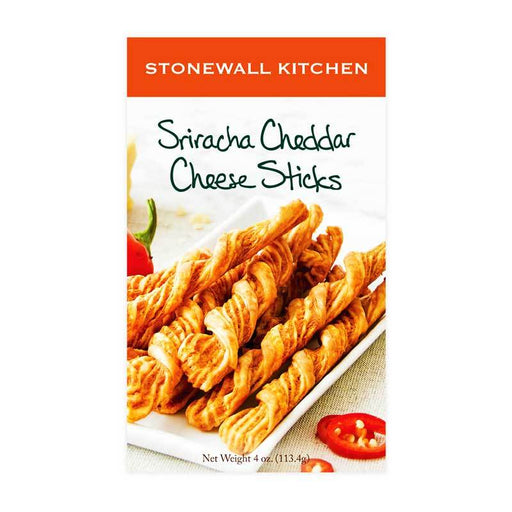 Stonewall Kitchen Sriracha Cheddar Cheese Sticks, 4 oz (113.4 g)
