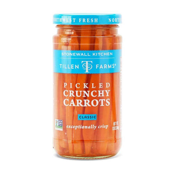Stonewall Kitchen Pickled Crunchy Carrots, 12 oz (340 g)