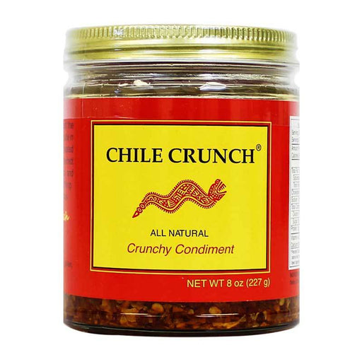 Chile Crunch - An All Natural Crunchy Condiment (Original), 8oz (227g)