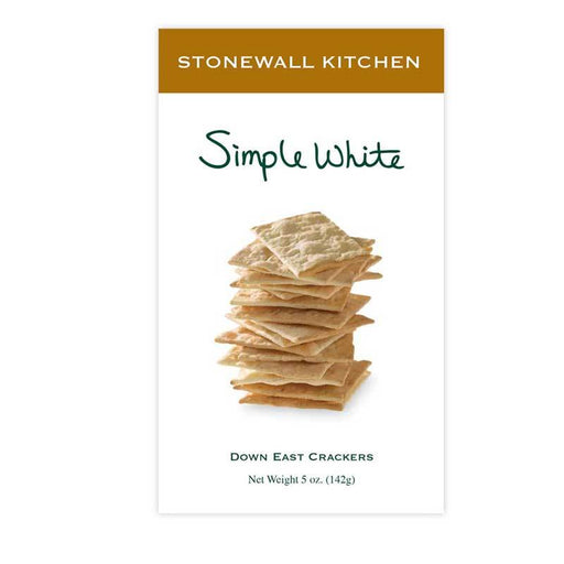 Stonewall Kitchen Simple White Crackers, 5 oz (142g)