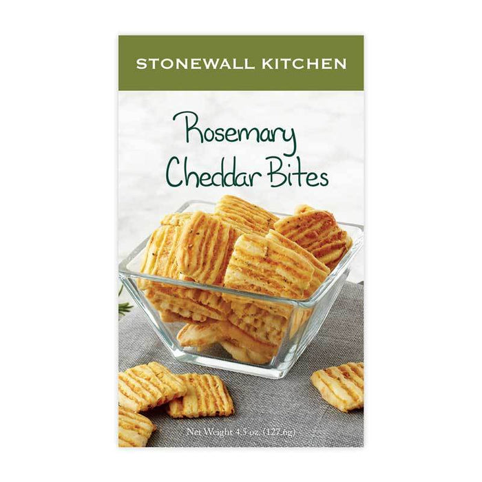 Stonewall Kitchen Rosemary Cheddar Bites, 4.5 oz (127 oz)