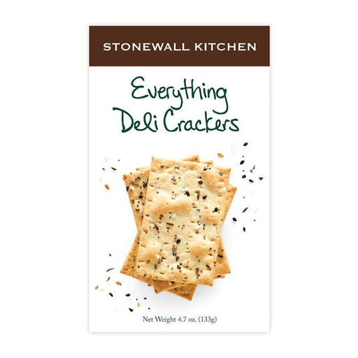 Stonewall Kitchen Everything Deli Crackers, 4.7 oz (133g)