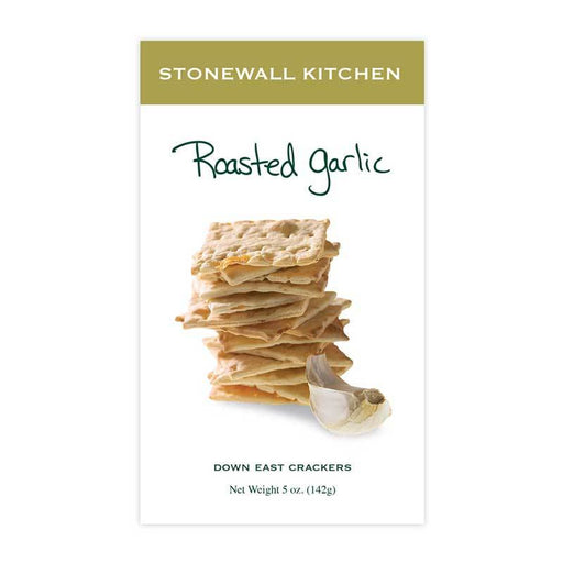 Stonewall Kitchen Roasted Garlic Crackers, 5 oz (142g)