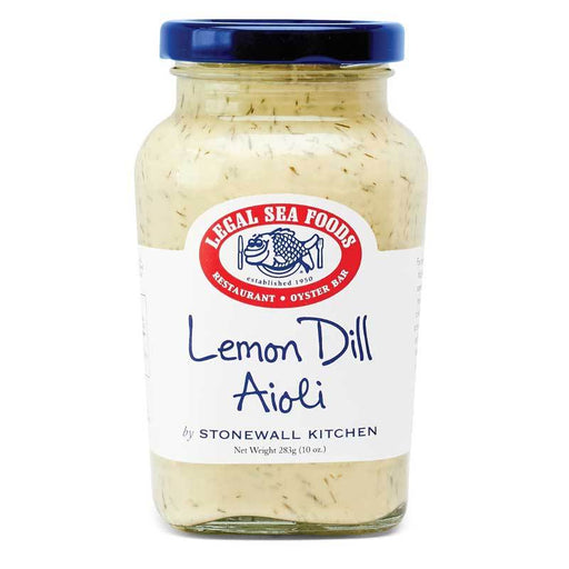 Legal Sea Foods Lemon Dill Aioli, 10 oz (283g)
