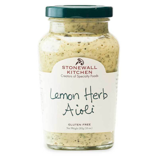 Stonewall Kitchen Lemon Herb Aioli, 10.25oz (290g)