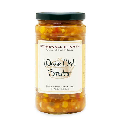 Stonewall Kitchen White Chili Starter Sauce, 18 oz (510g)