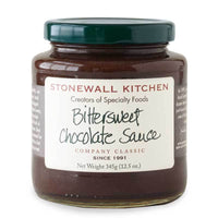 Stonewall Kitchen Bittersweet Chocolate Sauce, 12.5 oz (354g)