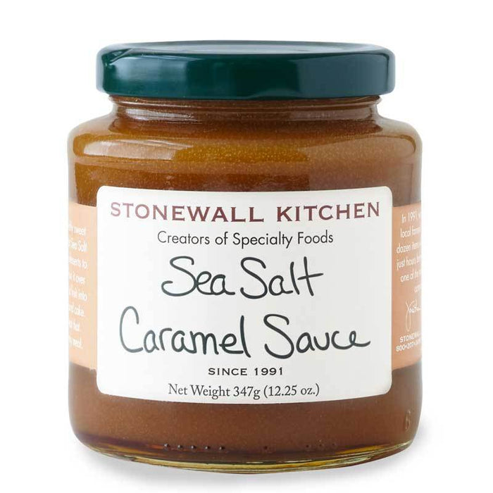 Stonewall Kitchen Sea Salt Caramel Sauce, 12.25 oz (347g)