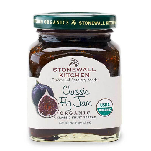 Stonewall Kitchen Organic Classic Fig Jam, 8.5 oz (241g)