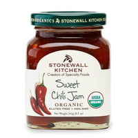 Stonewall Kitchen Organic Sweet Chili Jam, 8.5 oz (241g)