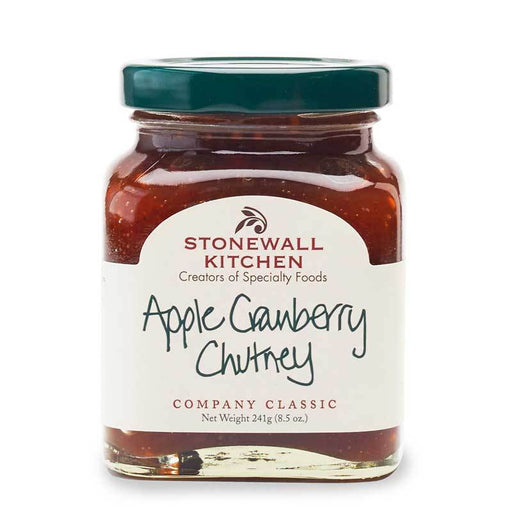 Stonewall Kitchen Apple Cranberry Chutney, 8.5 oz (241g)