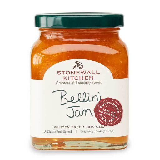 Stonewall Kitchen Bellini Jam, 12.5 oz (354g)