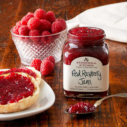 Stonewall Kitchen Red Raspberry Jam, 12.5 oz (354g)