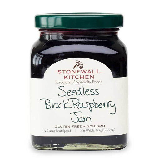 Stonewall Kitchen Seedless Black Raspberry Jam, 12.25 oz (349g)