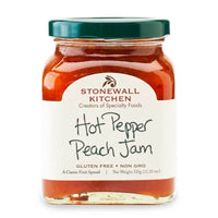 Stonewall Kitchen Hot Pepper Peach Jam, 11.25 oz (320g)