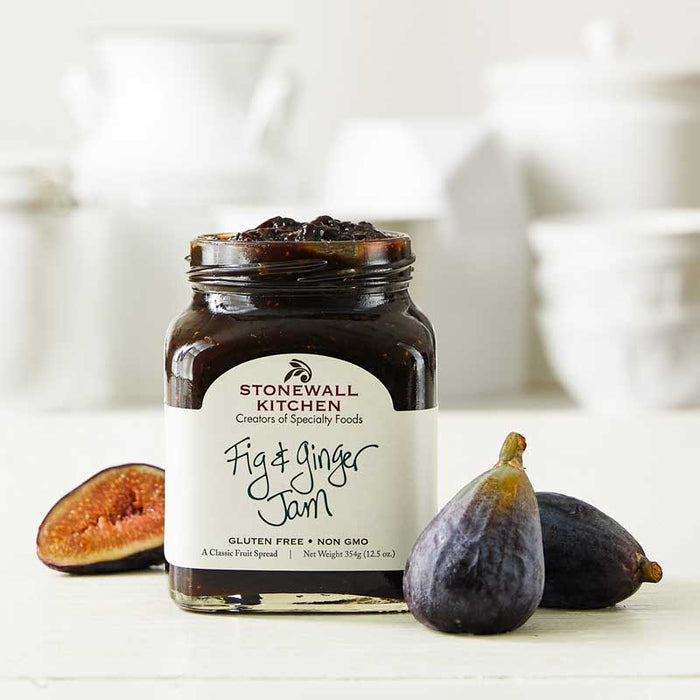 Stonewall Kitchen Fig & Ginger Jam, 12.5 oz (354g)