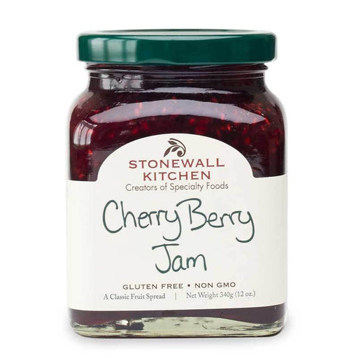 Stonewall Kitchen Cherry Berry Jam, 12 oz (340g)