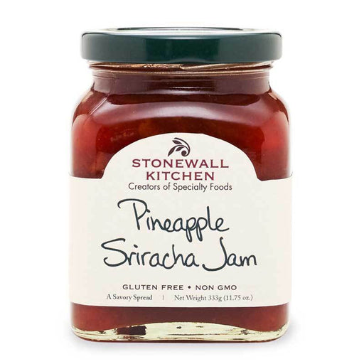 Stonewall Kitchen Pineapple Sriracha Jam, 11.75 oz (333g)