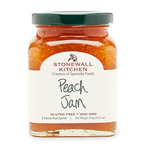 Stonewall Kitchen Peach Jam, 12.5 oz (354g)