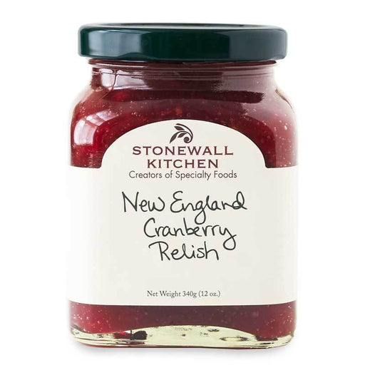 Stonewall Kitchen New England Cranberry Relish, 12 oz (340g)