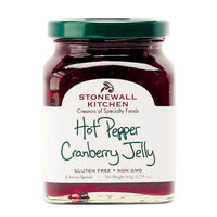 Stonewall Kitchen Hot Pepper Cranberry Jelly, 12.75 oz (361g)