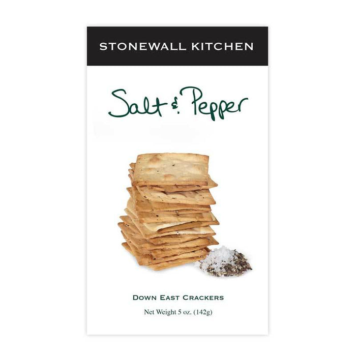 Stonewall Kitchen Salt & Pepper Crackers, 5 oz (142g)