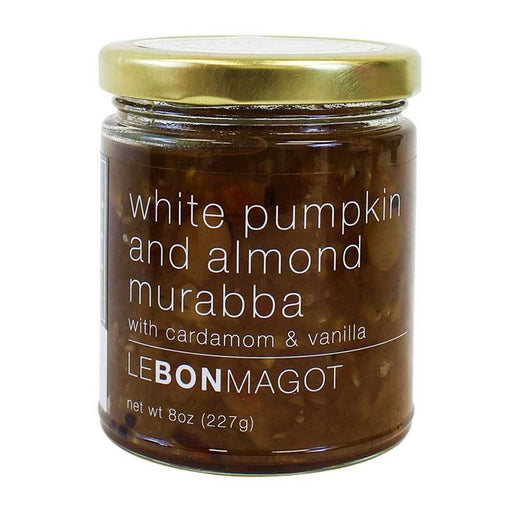 White Pumpkin and Almond Muraba by Le Bon Magot , 7.2 oz (204 g)