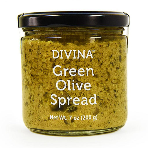 Green Olive Spread by Divina, 7 oz (200 g)