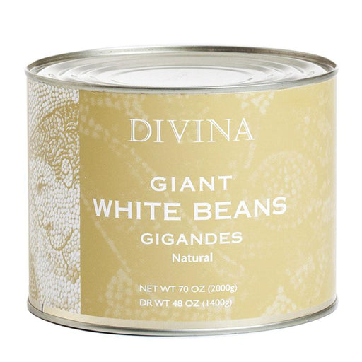 Giant White Beans by Divina, Gigandes, 4.4 lb (2 kg)