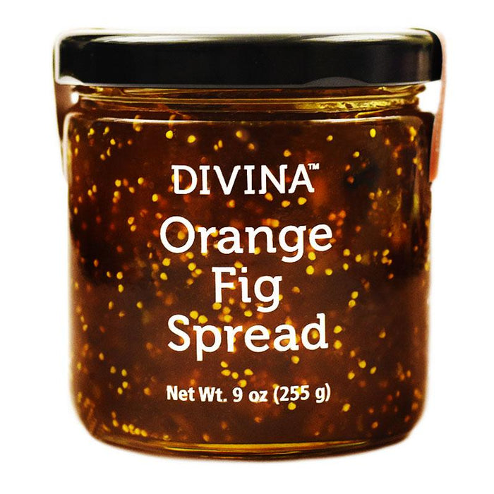Divina Orange Fig Spread, 9 oz (255 g)