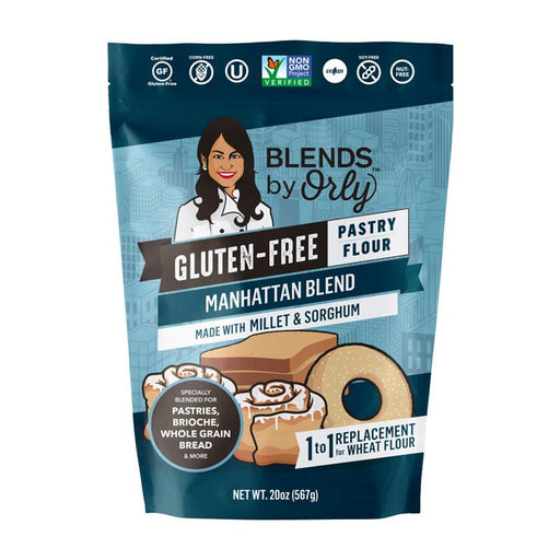 Orly's Grainless Gluten Free Manhattan Blend Flour, 20 oz. (567g)