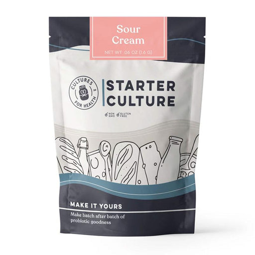 Cultures for Health Sour Cream Starter Culture, 0.6 oz. (1.6g)
