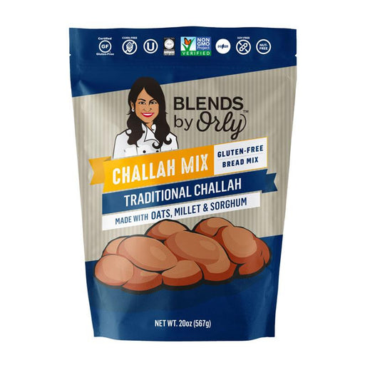 Orly's Grainless Gluten Free Traditional Challah Mix, 20 oz. (567g)