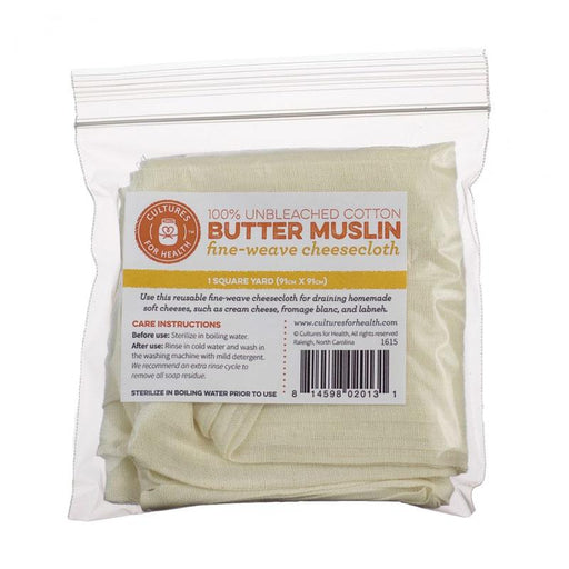 Cultures for Health 100% Cotton Butter Muslin, 1 unit