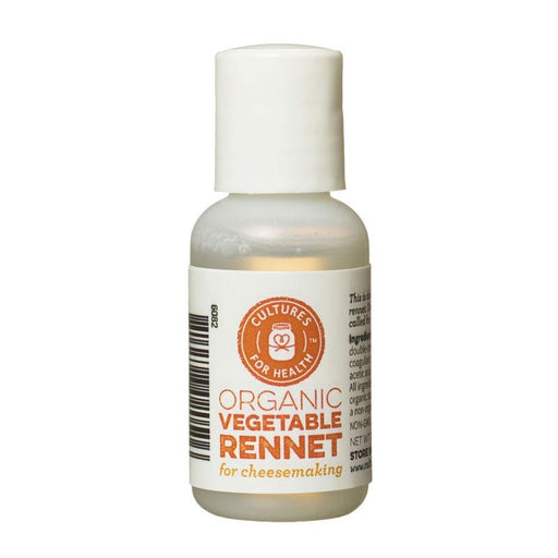 Cultures for Health Organic Vegetable Rennet, 1 fl oz (29.5 mL)
