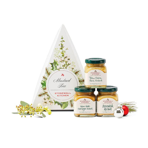 Stonewall Kitchen Mustard Gift Box, 3 Mustards