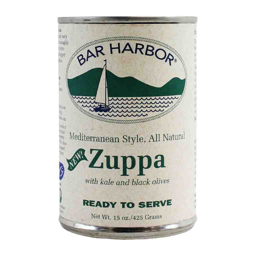 Bar Harbor Zuppa Mediterranean Clam Chowder Soup, 15 oz (425 g)