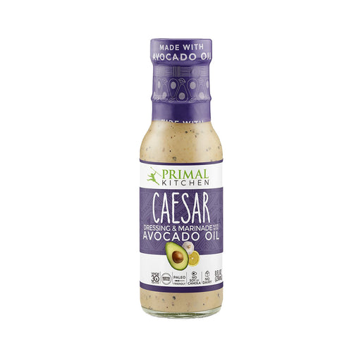 Primal Kitchen Caesar Dressing and Marinade with Avocado Oil, 8 fl oz (236 ml)