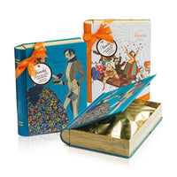 Venchi Large Book Tin Chocolate Assortment, 7oz, 200g