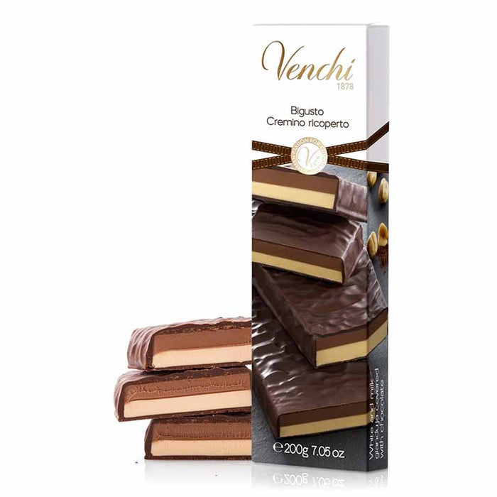 Venchi Chocolate-Covered Gianduja Cremino Bigusto, 7 oz (200 g)
