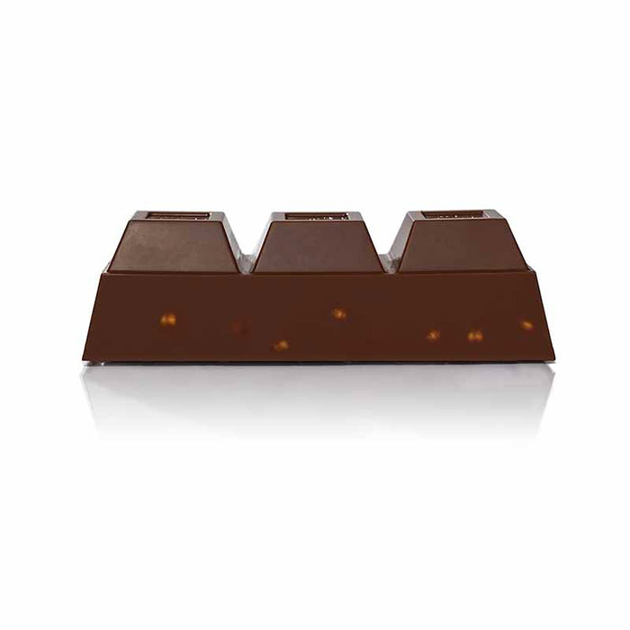 Venchi Dark Chocolate with Piemonte Hazelnuts Block 5.2 oz.