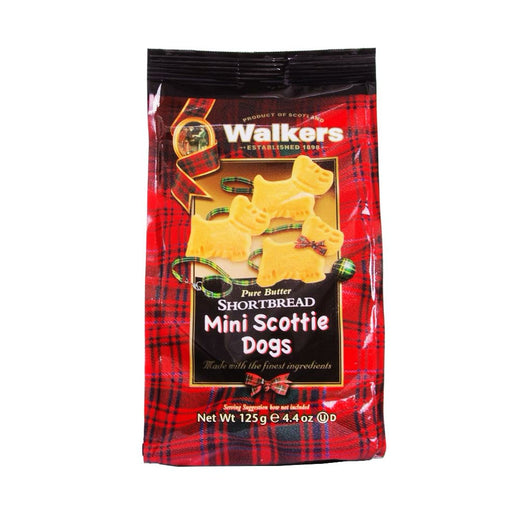 Walkers Mini Scottie Dog Shortbread, 4.4 oz (125 g)